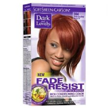 Dark and Lovely Fade Resist Rich Conditioning Color - Vivacious Red